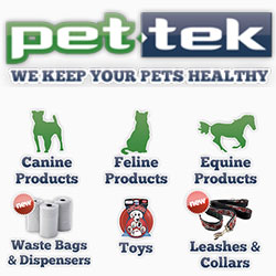 Pet-tek Distribution Logo